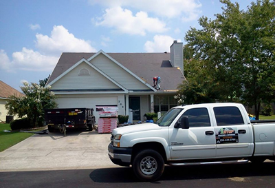 huntsville roofer contractor